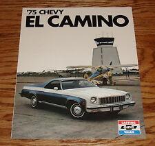 Original 1975 Chevrolet El Camino Foldout Sales Brochure 75 Chevy