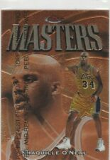 1997-98 Topps Finest Shaquille O'Neal  Masters #217