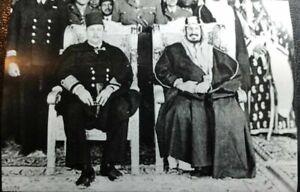 SAUDI ARABIA Sticker الملك عبد العزيز والملك فاروق