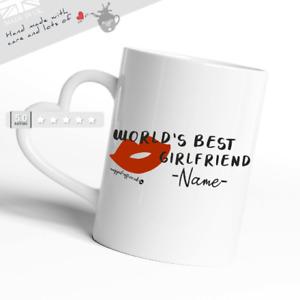 World's Best Girlfriend Valentine's Day/Anniversary Gift Mug