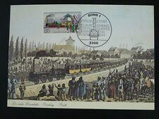 railroads train 150 years of railway maximum card Germany 72880