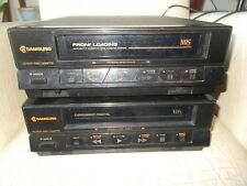 lot de 2 lecteur vidéo cassette magnétoscope SAMSUNG