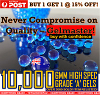 6MM GEL BALL AMMO 6MM GEL BALLS HARD GEL BALL AMMO JM M4A1 WELL M4 GEL BALLS 7MM