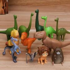 12x Cartoon The Good Dinosaur Arlo Bubbha PVC Figure Cake Topper Toy Kids Gift