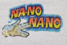 1979 Mork And Mindy Deadstock Na-No NaNo Glove Iron On Transfer Glitter Decal