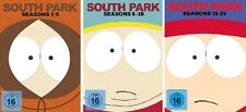 45 DVDs * SOUTH PARK BOX 1 - 3 ( STAFFEL / SEASON 1 - 15 ) IM SET # NEU OVP +