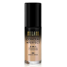 Milani Conceal + Perfect 2-In-1 Foundation + Concealer 1oz (You Choose Shade)