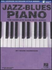 Jazz-Blues Piano Music Book/Audio Complete Guide Hal Leonard Keyboard Style