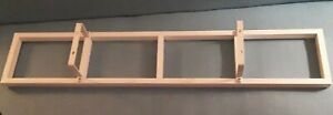 Wall Mount Media Rack Storage White DVD CD Display Shelf  Metal Cabinet IKEA