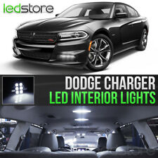 2015-2018 Dodge Charger White Interior LED Lights Kit Package