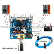 TDA7297 AC/DC 12V 2*15W Digital Stereo Audio Amplifier Dual Channel AMP Module C