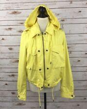Diesel Women's G-PELAGIA Yellow Full Zip Hooded Jacket Size S, F13