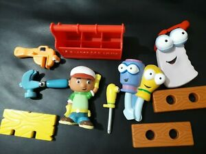 "Handy Manny Figure 3.5"" And Tools Mattel Disney 2007"