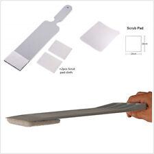 7.5x26cm Portable Long Handle Car Window Tint Solar Film Squeegee+2 Scouring Pad