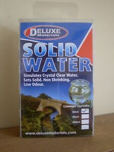 Modelling/ Miniatures ~ Deluxe Materials BD36 SOLID WATER 90ml ~