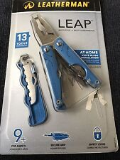 Leatherman 831831 Leap Kid's 13-Tool Blue Multi-Tool New In package