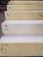 "4""x24""x80"" Medium Density Foam Rubber Replacement Cushion"