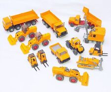13x Wiking HO 1:87 SHOVEL + DIGGER + MB TRACTOR LORRY + MAN TRUCK + FORKLIFT Lot
