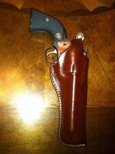 """Leather Holster Ruger Single six Colt rimfire &  similar 6.5"""" barrel 9246"""