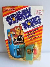 """DONKEY KONG """"PAULINE"""" collectible arcade figure Vintage Sealed in Package 1981"""