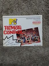 NINTENDO NES MTV Remote Control Instruction Manual Only