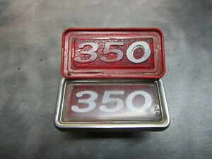 1969 BUICK GS 350 REAR SIDE MARKER RARE RED HOUSING
