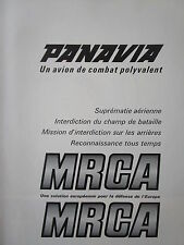 9/1970 PUB 6 PAGES BRITISH AIRCRAFT MBB FIAT MRCA PANAVIA TORNADO ORIGINAL AD