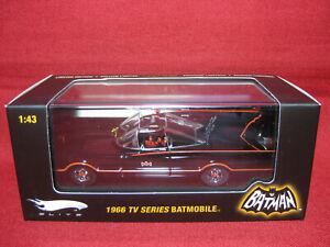 1:43 Batmobile 1966 TV Series SEALED Hot Wheels Elite Batman George Barris Rare