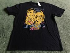 MENS NBC UNVERSAL LASER CATS 4 EVER! T-SHIRT SIZE L NEW