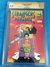 Strangers in Paradise v2 #4 - Abstract - CGC SS 9.6 NM+ -Signed by Terry Moore