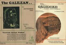 "Pelley 1941-42 GALILEAN Magazine Eleanor Roosevelts ""Jewish nightclub protegees"""