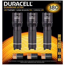 3 x LED Linterna Antorcha/alta intensidad 380 LM Duracell DURABEAM ULTRA