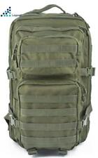Molle Tactical Backpack Day Pack 50 Lt Olive Green Hiking Rucksack Travel Army