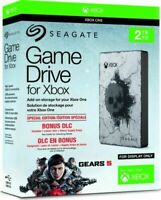 Seagate Gears 5 Limited Edition 2TB Game Drive For Microsoft XBOX One XBOX 360