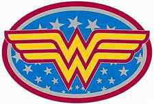 "Wonder Woman Logo Iron On Transfer 5""x7.5"" For Light Fabric"