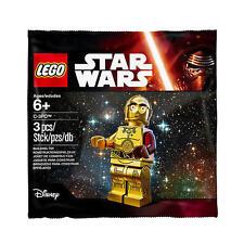 Lego Star Clone Wars Force Awakens C3PO C-3PO RED ARM Minifigure Limited NISB