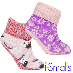 i-Smalls Women Wild Feet Lined Bootie Slippers