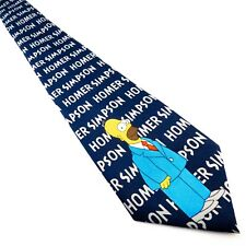 THE SIMPSONS Novelty Homer Pattern Mens Tie