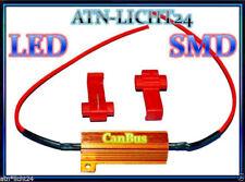 LED SMD 12v p21w psx24w h16 p21w de circulación diurna resistencias Can-Bus para VW AUDI