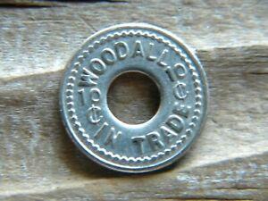 Soda Springs, Idaho Trade Token WOODALL ( Hotel) gf 10¢ Caribou County ID