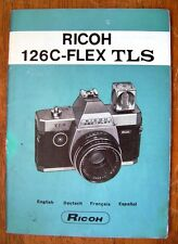 Ricoh 126C-Flex TLS Instruction Manual
