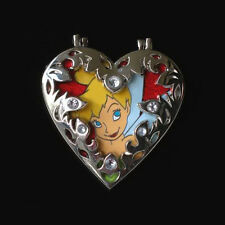 Disney Fairy Tinkerbell Tinker Bell Heart Cameo Locket Pin Le 300