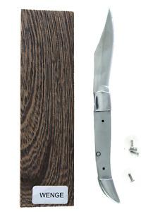Texas Toothpick Folder DIY Custom Knife Making Kit - Wood or Resin Handles