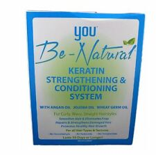 You Be Natural Keratin Strengthening and Conditioning System Kit