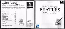 CD KRESTEN KORSBAEK PLAYS BEATLES, GUITAR RECITAL A SUITE BY LENNON & McCARTNEY