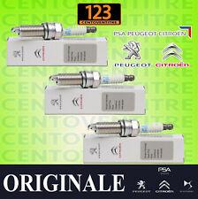 Kit 3 Candele Accensione Originali Peugeot Citroen C1 II Cactus 108 208 1.2 VTI