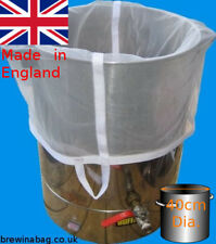 BAG for home brew BIAB beer for ~40L Pot up to 40cm diameter