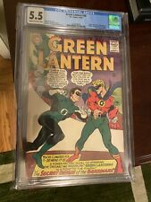 GREEN LANTERN #40 vs Alan Scott 1965 Origin Guardians 1st CRISIS & KRONA CGC 5.5