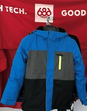2020 NWT 686 Boys SMARTY 3 in 1 Jacket Youth Kids M Medium Snowboard 10K a69
