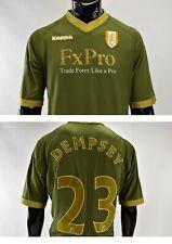 5161a172e 2010-11 Kappa Fulham FC Away Football Shirt DEMPSEY  23 SIZE 2XL-XXL